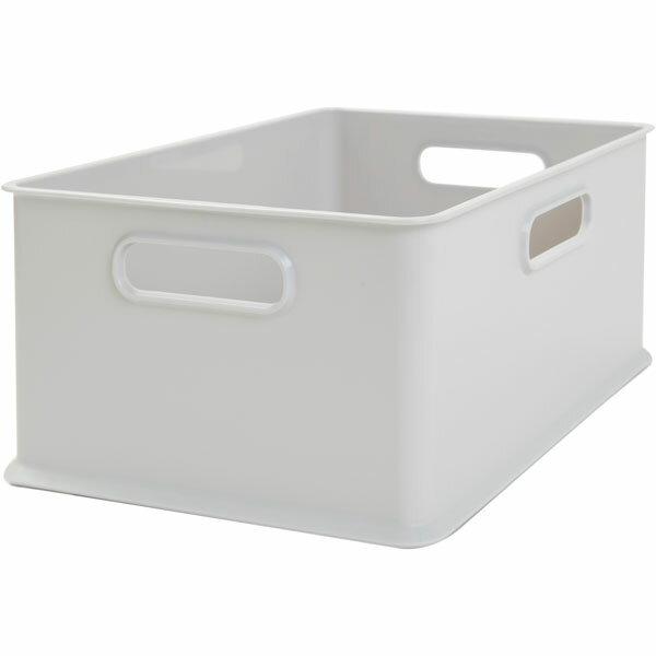 インボックス クォーター(GY)12個セット〔幅19.2×奥行26.4×高さ12cm〕