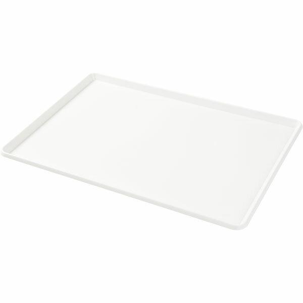 インボックス フタ レギュラー用(ホワイト)12個セット〔幅38.8×奥行26.5×高さ1.5cm〕