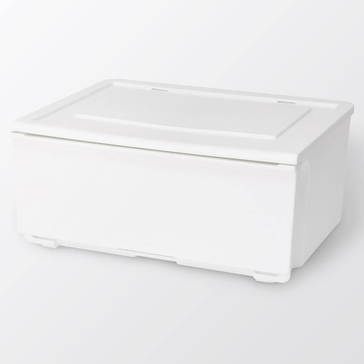 〔幅52〕収納ケース Nフラッテ(ホワイト)