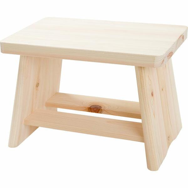 木製ヒノキ 風呂いす(座面高さ20cm)