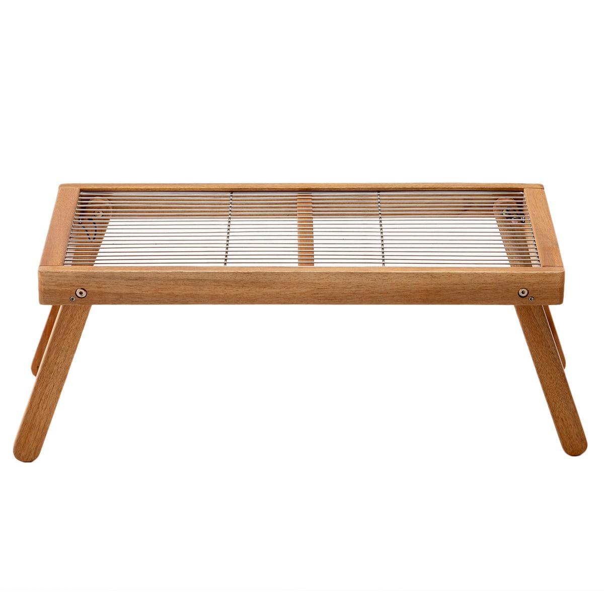 木製 メッシュローテーブル(INS)