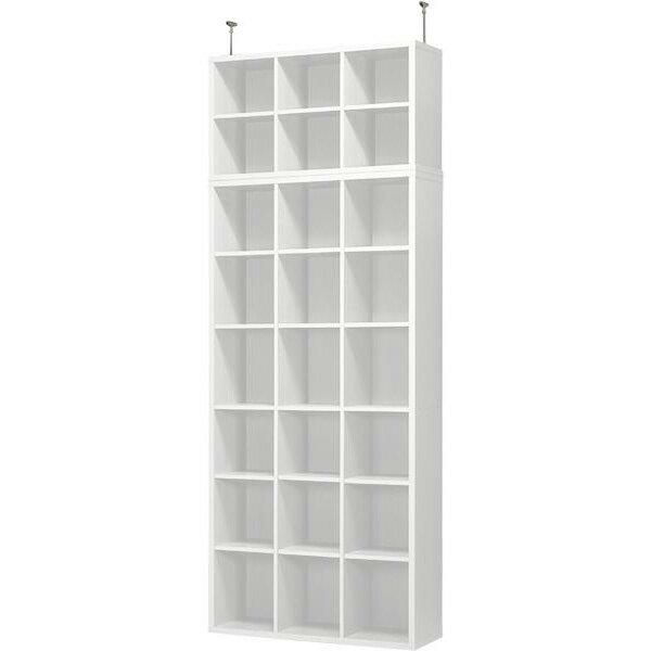 書棚グレン上置セット(BS1890WH/US900WH)