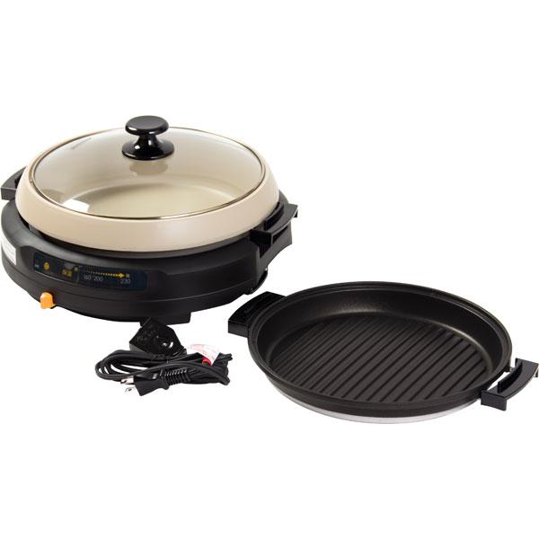 電気グリル鍋2枚組(HP1300)