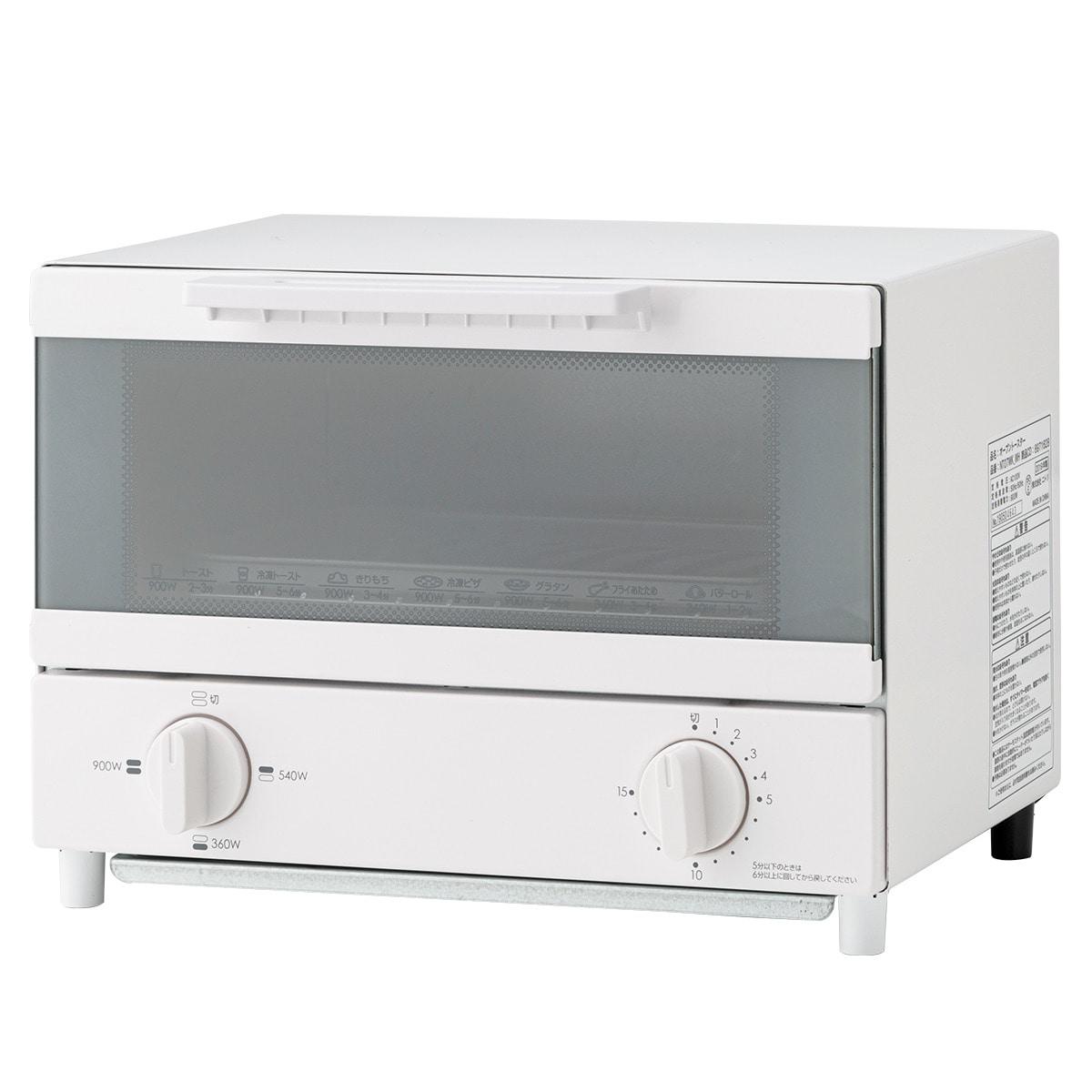 W切替式オーブントースター ココル(NT07WK_WH)