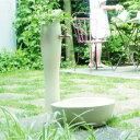 水栓柱-ポッシュ・アイボリー(パン/蛇口/補助蛇口付)[W-188]【あす楽対応不可】【全品送料無料】