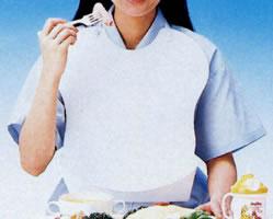ピジョン エプロン K745 介護用品 食事介助 食事用エプロン...:njich:10000083