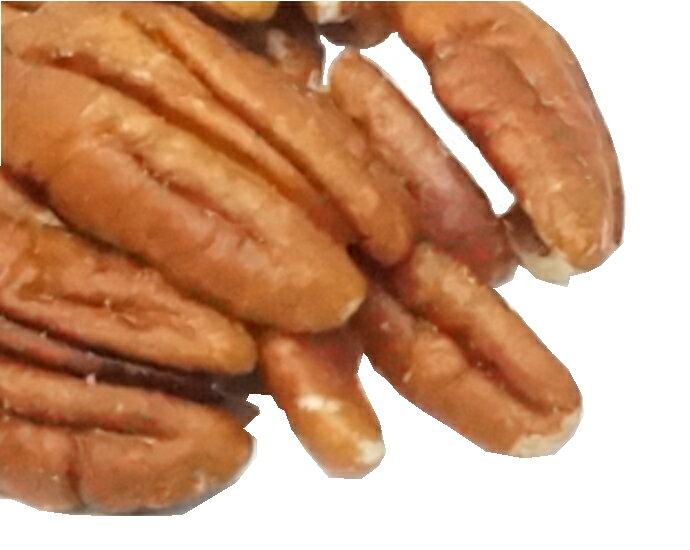 オーガニック・ピーカンナッツ (ハーフ&ピース・生) 1Kg /アメリカ産【有機ペカンナッツ 有機ピーカンナッツ P10】