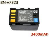 【あす楽対応】 ● Victor ビクター ● BN-VF823/BN-VF808 互換バッテリー ●純正充電器で充電可能 残量表示可能 ● GZ-MG360/GZ-MG330/GZ-MG575/GS-TD1