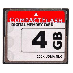 ■送料無料■【東芝製チップ】採用オリジナルブランド■CompactFlash CFカード コンパクトフラッシュ 4GB 200X 200倍速 UDMA対応●D2Xs/D2Hs/D3/D3S/D700/D300S/EOS 5D MarkII/7D/ 60D/EOS 5D MarkIII/D600/D800E/D7000/D4●