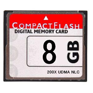 ■送料無料■【東芝製チップ】採用オリジナルブランド■CompactFlash CFカード コンパクトフラッシュ 8GB 200X 200倍速 UDMA対応●LP-E4N/LP-E6/EN-EL4a/EN-EL3e/D-Li90/K-5/K-7/D-Li50/BP-511A/20D/30D/40D/50D●