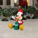 Disney ディズニー クリスマス エアーバルーン ミッキー&ツリー 1.07M LEDライトアップ【送料無料】バルーン 風船 Christmas ミッキー 巨大バルーン イベント LED
