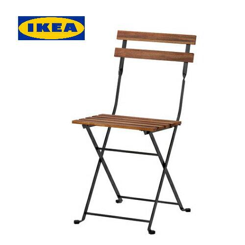 イケア IKEA テルノー TARNO 折りたたみチェア アカシア材 スチールアウトドア 【smtb-ms】00165128