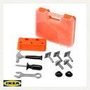IKEA DUKTIG 工具 おもちゃ ツールボックス イケア ドゥクティグ DIY ごっこ遊び ロールプレイ 日曜 大工 玩具 工具ケース お片付け キッズ こども 好奇心 【smtb-ms】40164829