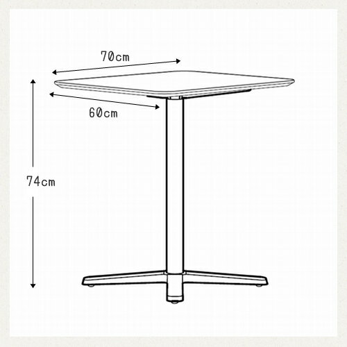 IKEAテーブル+台座BILLSTAホワイト ...