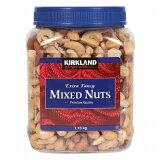 カークランド ミックスナッツ 1130グラム エクストラ ファンシー カークランドKIRKLAND MIXED Nuts カークランドミックスナッツ 1.13kg おやつ おつまみ