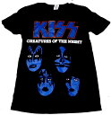 【KISS】キッス「CREATURES OF THE NIGHT」Tシャツ