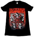 【BUTCHER BABIES】ブッチャーベイビーズ「STAR SKULL」Tシャツ