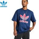 ショッピングLTE adidas アディダス正規品オリジナルス半袖Tシャツ トレフォイル Trefoil Tee紺ネイビーEC3681アメリカ買い付けインポートブランド海外買い付け正規