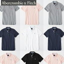 Abercrombie & Fitch アバクロンビーアンドフィッチ正規品メンズ ストレッチアイコン刺繍 半袖ポロシャツStretch Icon Polo 124-227-0762並行輸入インポートブランド海外買い付け正規