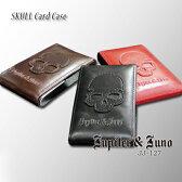 Jupiter&Juno(ジュピターアンドジュノ)Skull Card Case(スカル カードケース)