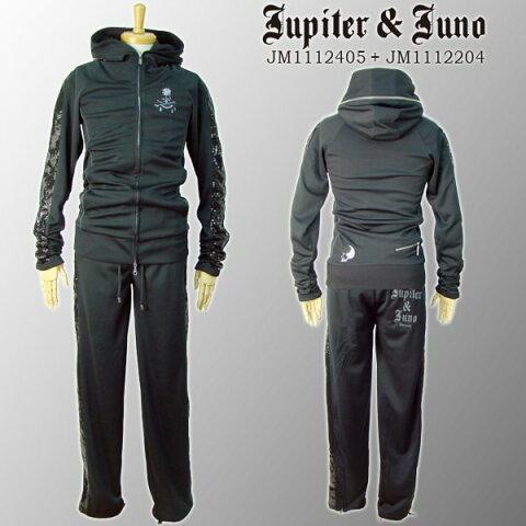 Jupiter&Juno ジュピターアンドジュノSkull Spangle Line Set Up(スカル スパンコールラインセットアップ)※※※