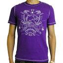 プーマ メンズ マイアミネオン Tシャツ02プリズンバイオレット