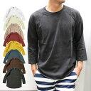 ショッピングキャンプ GoodOn グッドオン BASEBALL T-SHIRTS 7分袖(S M L XL)メンズ ユニセックス Tシャツ ロンT ラグラン 【メール便不可】