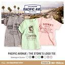 【送料無料】noa department store.○新作○『PACIFIC AVENUE』THE STORE'S LOGO Tシャツ(80-150cm)【お...