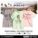 【送料無料】noa department store.○新作○『PACIFIC AVENUE』THE STORE'S LOGO Tシャツ(160-175cm)【...