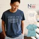 値下げ★【DM便可】親子 ペア お揃い レディース メンズ Tシャツ California Surf (160cm 165cm 175cm)【SF】