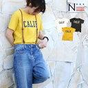 【クーポンで半額】半袖 TシャツCALIF Tシャツ(160cm)親子ペア お揃い【メール便可】