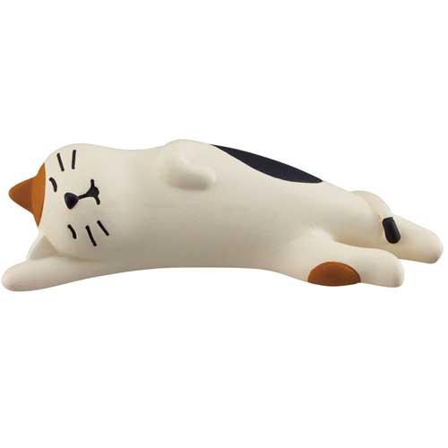ZCB-65490/DECOLE デコレconcombre コンコンブルまったりマスコット【のび寝猫】CAT/置物