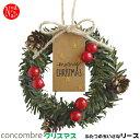 ZXS-48151/デコレ concombre コンコンブル 2016年CHRISTMAS 「ふたつのちいさなリース」/インテリア/装飾/デコレーション/お部屋...