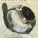【ネコポス便発送可】QKS137-4/【Fild work/フィールドワーク】腕時計 ファッションウォッチ「エルー」(カーキ)/バンド/リスト/Watch..