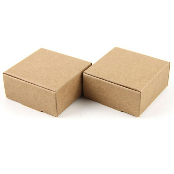 【メール便可】プレゼントや贈り物に♪可愛いクラフト紙のミニボックス☆パーティ/プレゼント/贈り物/ギフト/梱包/枕型/箱/ボックス/小さい/ミニ/お菓子/小物入れ/ハンドメイド/手作り/クラフト