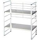 出窓で使える2段シェルフ/幅38cm/インテリア・寝具・収納 収納家具 キッチン収納 食器棚・キッチンボード