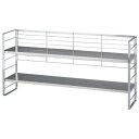 出窓で使える2段シェルフ/幅88cm/インテリア・寝具・収納 収納家具 キッチン収納 食器棚・キッチンボード
