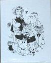 ムーミン PUTINKI社製 ミニポスター  TOVEファミリーフラワー PTK040055