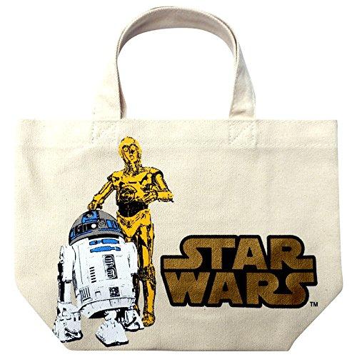 スター・ウォーズ マチ付コットンバッグ C3PO&R2-D2 SWLC05