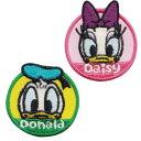 ディズニー ワッペン ドナルド&デイジー APDS1426