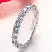 【輝き保証!】K18WGダイヤモンド フルエタニティリング[1.6ct前後]《ダイヤ:カラーD-F / クラリティVVS1-VS1 / カットEX-VG》*結婚指輪(マリッジリング)としても人気です!*【ダイヤモンド】