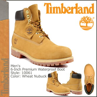 Timberland Timberland 6 inch premium waterproof boots 10061 6inch Premium Waterproof Boot nubuck men's yellow boots