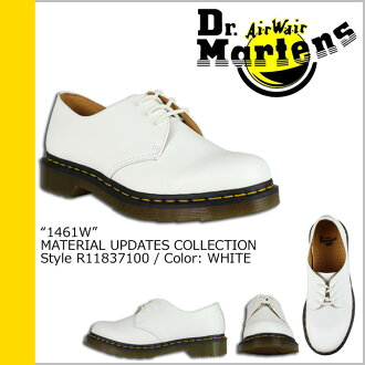 Dr. Martens Dr.Martens 1461 WOMENS 3 Hall shoes R11837100 MATERIAL UPDATES leather women's men's 3 EYE SHOE GIBSON