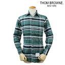 THOM BROWNE NEW YORK トムブラウン シャツ チェックシャツ メンズ