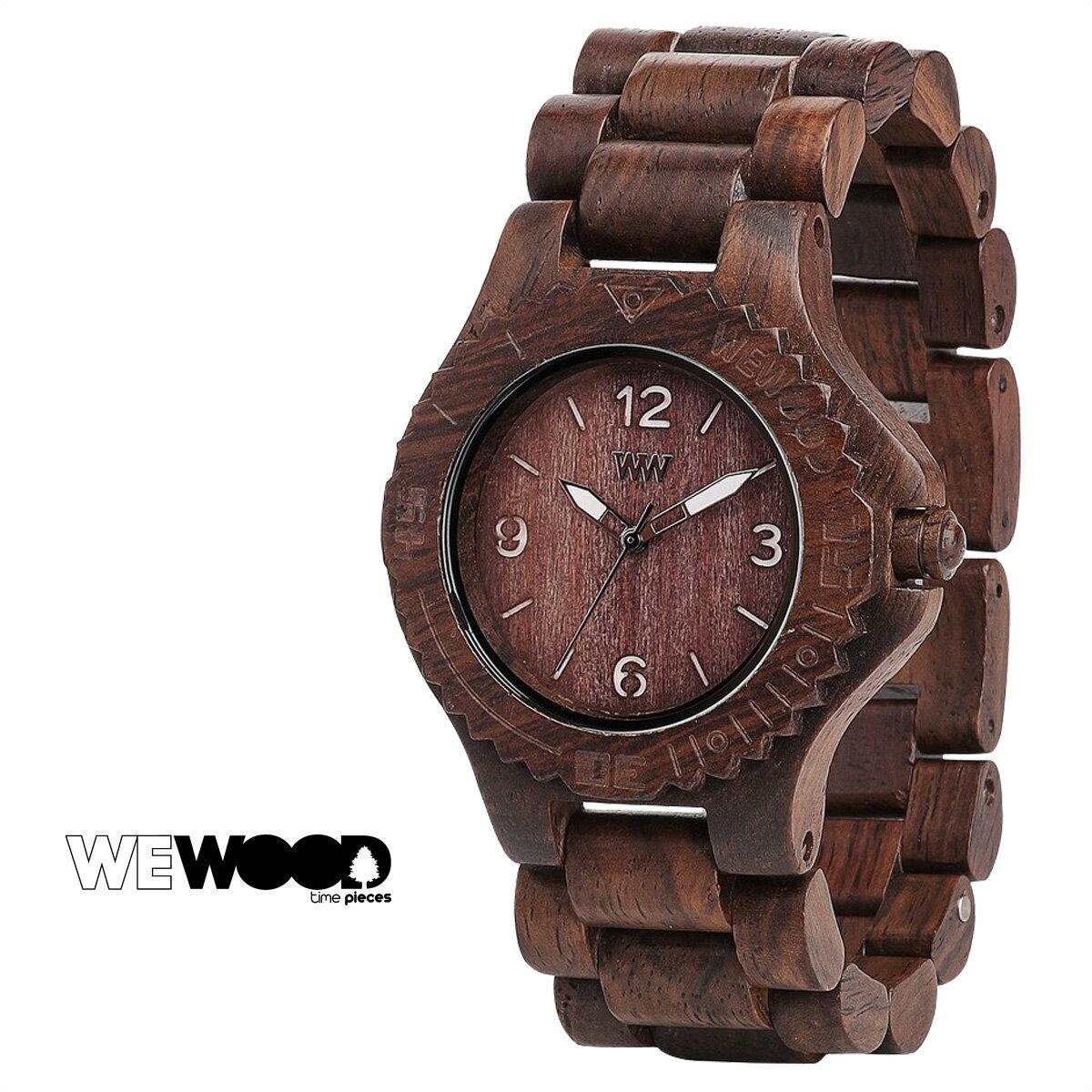 WEWOOD KALE 腕時計 メンズ レディース ウィーウッド チョコ ホワイト CHOCOLATE WHITE ケール [1712]