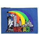 MARC JACOBS NEW YORK CITY POUCH マークジェイコブス クラッチバッグ セカンドバッグ レディース ブルー M0010919 [194]