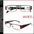 ミクリ mikli アランミクリ メガネ 眼鏡 ブラック レッド ML0942 0001 メタルフレーム サングラス メンズ レディース あす楽