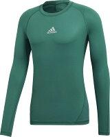 adidas アディダス ゲームシャツ・パンツ サッカー (メンズ サッカー・フットサルウェア) ALPHASKIN (アルファスキン) TEAM ロングスリーブシャツ 【あす楽対象外】【返品不可】の画像