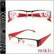 ミクリ mikli アランミクリ メガネ 眼鏡 M0733-0003 レッド メタルフレーム サングラス RED GLASSES メンズ レディース あす楽