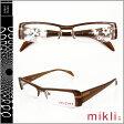 ミクリ mikli アランミクリ メガネ 眼鏡 ブラウン M0807-col04 セルフレーム サングラス alain mikli メンズ レディース あす楽